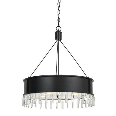 Hardy 4-Light Drum Chandelier