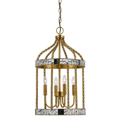 Morden 4-Light Foyer Pendant