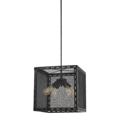 Frazier 4-Light Shaded Chandelier