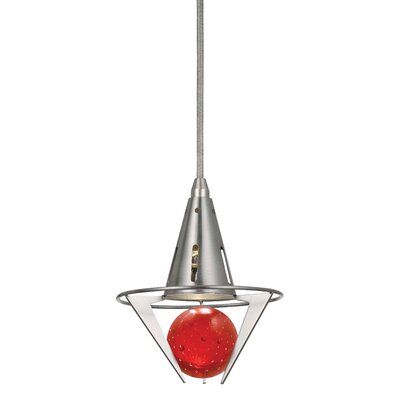 Sandra Pendant Shade Color: Red