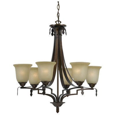 Glenwood 6-Light Shaded Chandelier