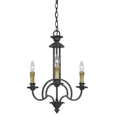 Josefa 3-Light Candle-Style Chandelier