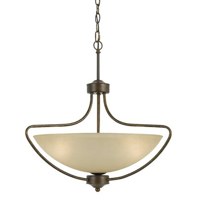Westfield 3-Light Bowl Pendant