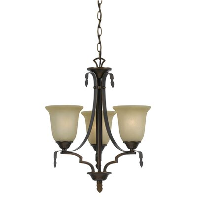 Glenwood 3-Light Shaded Chandelier