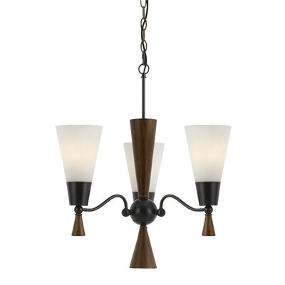 Westborough 3-Light Shaded Chandelier