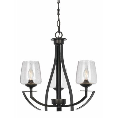 Kinderhook 3-Light Shaded Chandelier