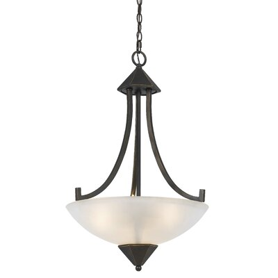 Kingsbury 3-Light Inverted Pendant