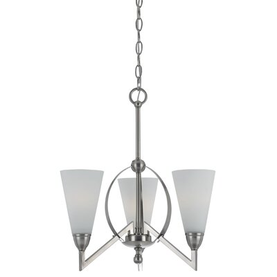Westminster 3-Light Shaded Chandelier
