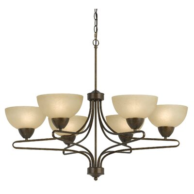 Westfield 6-Light Shaded Chandelier