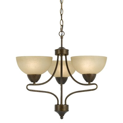 Westfield 3-Light Shaded Chandelier