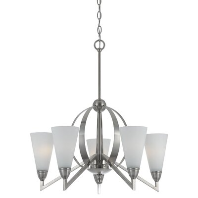Westminster 5-Light Shaded Chandelier