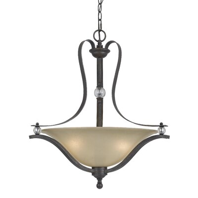 Adelbert 3-Light Bowl Pendant