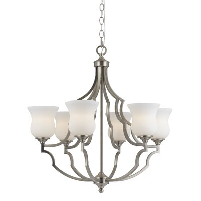 Juliette 6-Light Shaded Chandelier