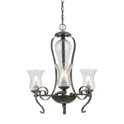 Addison 3-Light Shaded Chandelier