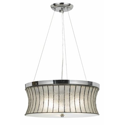 Washam 3-Light Drum Pendant