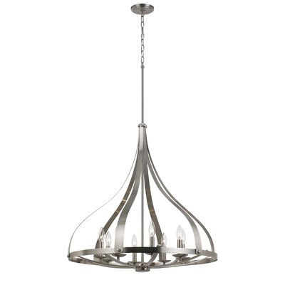 Worcester 8-Light Candle-Style Chandelier