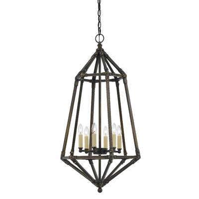 Kortright 6-Light Foyer Pendant