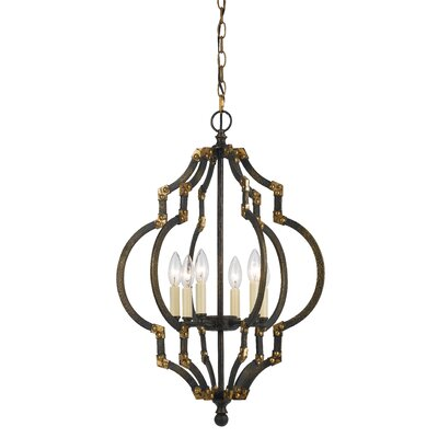 Harper 6-Light Foyer Pendant
