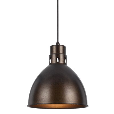 Kirkwood 1-Light Mini Pendant Finish: Rust