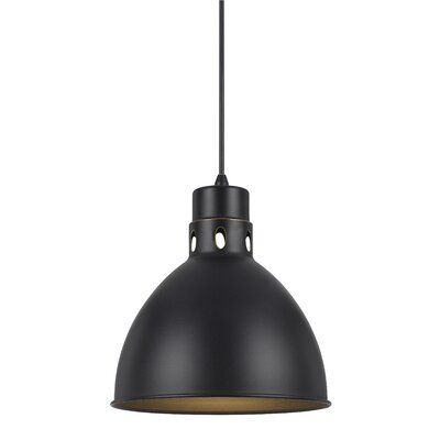 Kirkwood 1-Light Mini Pendant Finish: Dark Bronze