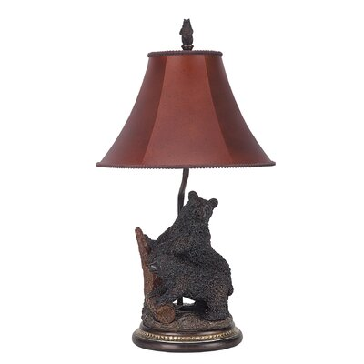 """Cal Lighting Bear 29"""" H Table Lamp with Bell Shade at Sears.com"""