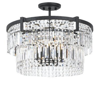 Hillcrest 5-Light Semi Flush Mount