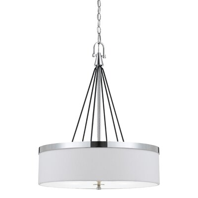 Cedric 3-Light Drum Pendant