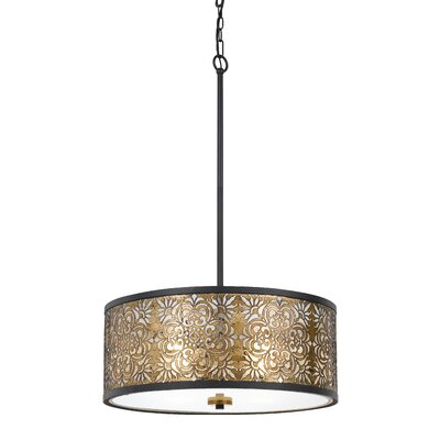 Bravington 4-Light Drum Pendant