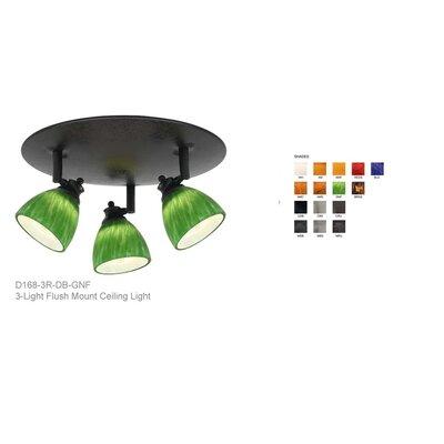 Alberto 3-Light Glass Spotlight