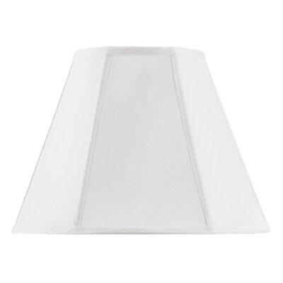 12 Fabric Empire Lamp Shade Finish: White