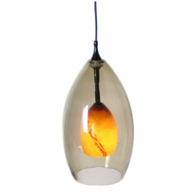 Colton Pendant Finish: Rust with Amber