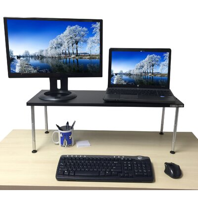 12.25 H x 33 W Standing Desk Conversion Unit