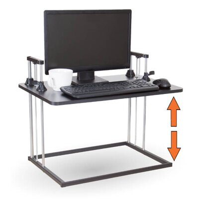 18.5 H x 27 W Standing Desk Conversion Unit