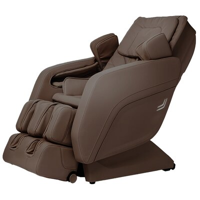 Zero Gravity Massage Chair Upholstery: Brown