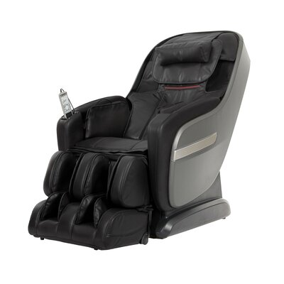 Zero Gravity Massage Chair Upholstery: Charcoal