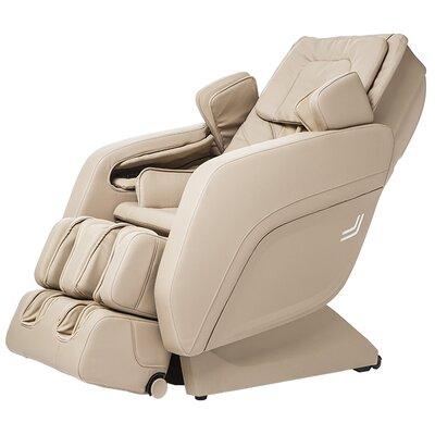 Zero Gravity Massage Chair Upholstery: Cream