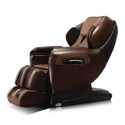 Zero Gravity Massage Chair Upholstery: Dark Brown