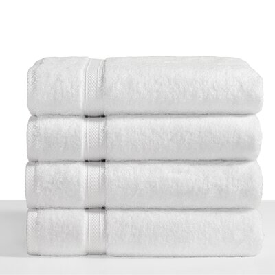 Cotton Bath Towel Color: White