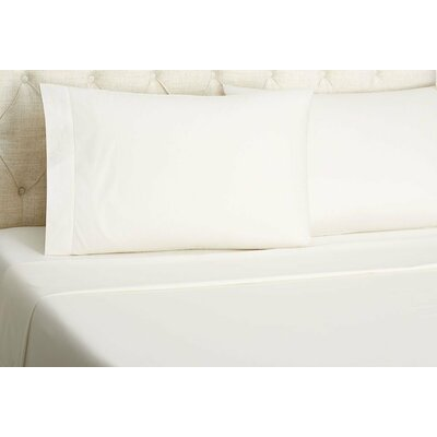 Supima Cotton 600 Thread Count Sheet Set Size: Queen, Color: Ivory