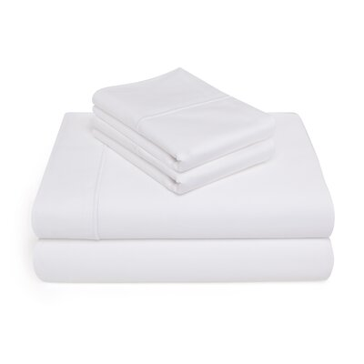 Allman 1000 Thread Count 100% Pima Cotton Sheet Set Size: King, Color: White