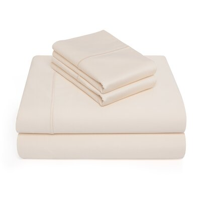 Allman 1000 Thread Count 100% Pima Cotton Sheet Set Color: Ivory, Size: Queen