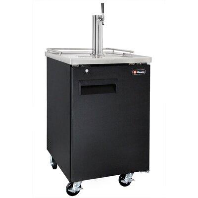 Single Tap Commercial Grade Full Size Beer Dispenser XCK-1B-K