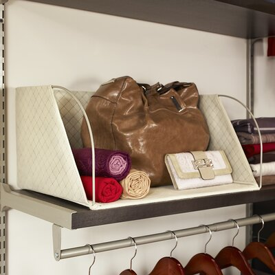 Stefan Storage Shelf Organizer Size: Large