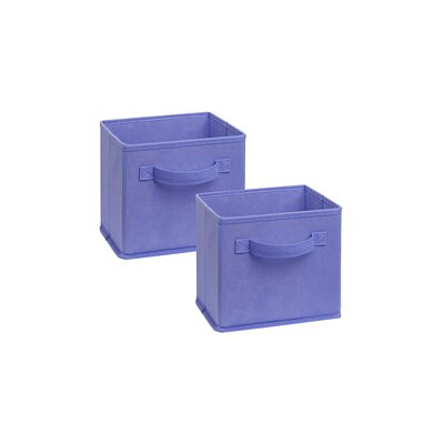 Cubeicals Mini Polypropylene Bin Color: Light Purple
