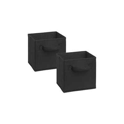Cubeicals Mini Polypropylene Bin Color: Black