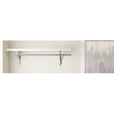 "Premium Wood Ventilated Shelf Kit Size: 12.32"" H x 48.03"" W x 15.98"" D 1424"