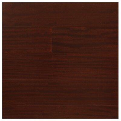 5 Engineered Pacific Mahogany Hardwood Flooring in Burgundy