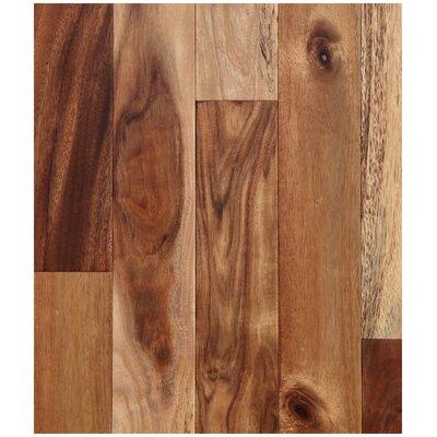 4-3/4 Engineered Acacia Hardwood Flooring in Natural
