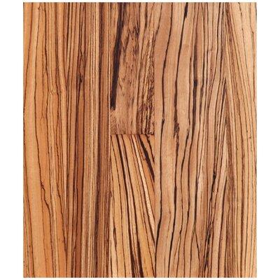 5 Engineered Zebrawood Hardwood Flooring in Natural