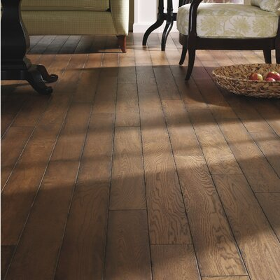 5 Engineered White Oak Hardwood Flooring in Artisan
